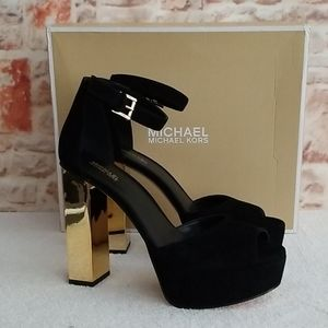 New Michael Kors Women's Petra Platform Sandals